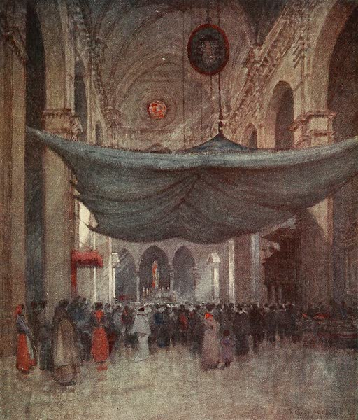 Florence & Some Tuscan Cities Painted and Described - Interior of the Cathedral of Santa Maria del Fiore (1905)