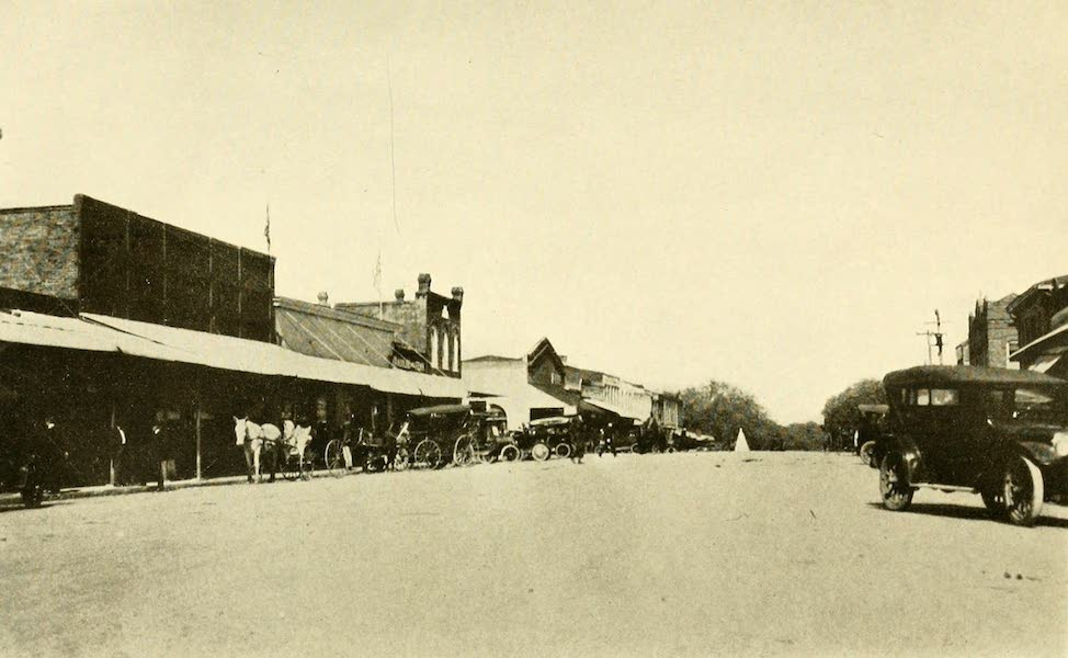 Florida, the Land of Enchantment - A Street Scene, Tallahassee (1918)