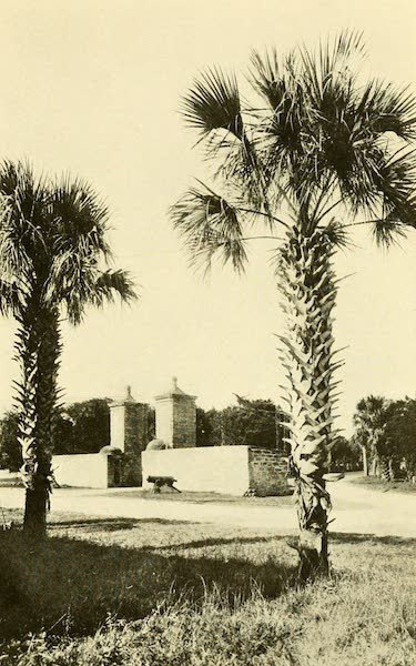 Florida, the Land of Enchantment - The City Gates, St. Augustine (1918)