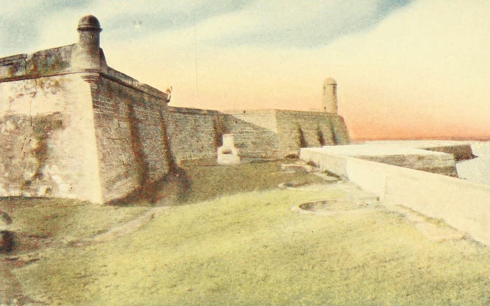 Florida, the Land of Enchantment - Fort Marion (1918)