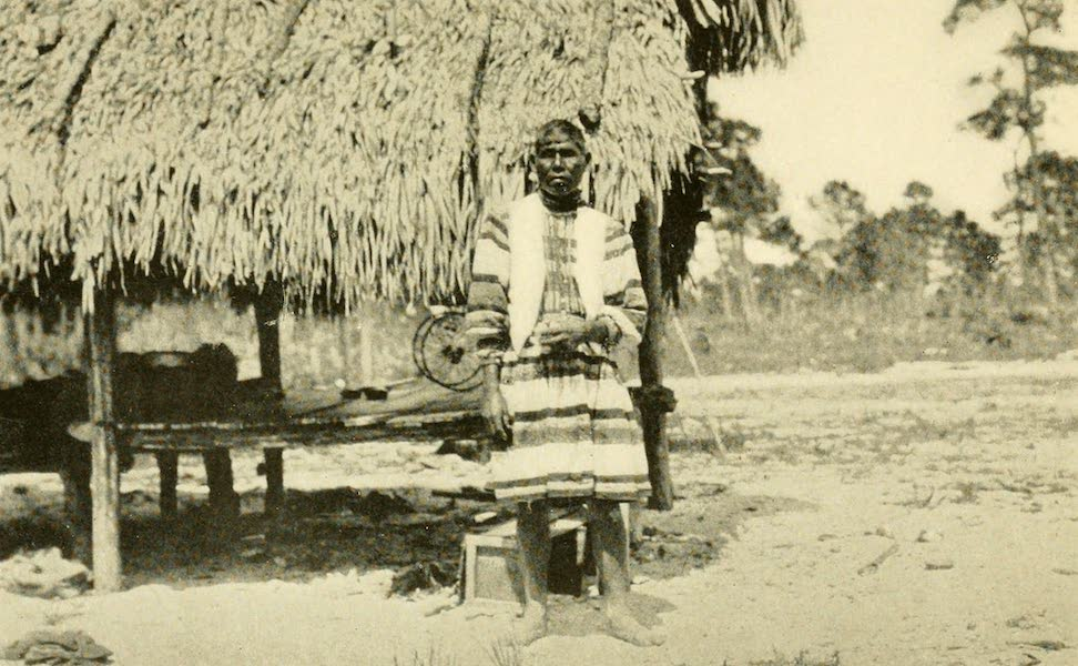 Florida, the Land of Enchantment - An Old Seminole Indian (1918)