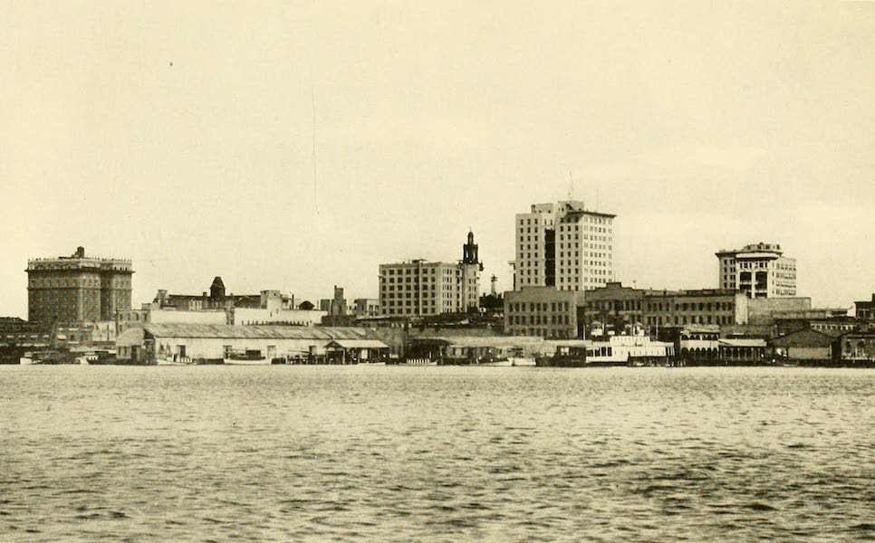 Florida, the Land of Enchantment - A View of Jacksonville from the St. John's River (1918)