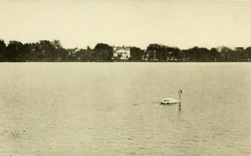Florida, the Land of Enchantment - Orlando, looking across Lake Lucerne (1918)