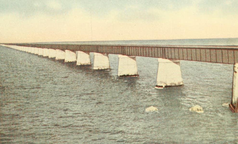 Florida, the Land of Enchantment - The Seven Mile Bridge (1918)