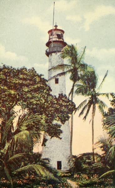 Florida, the Land of Enchantment - Cape Florida Light House, Miami (1918)