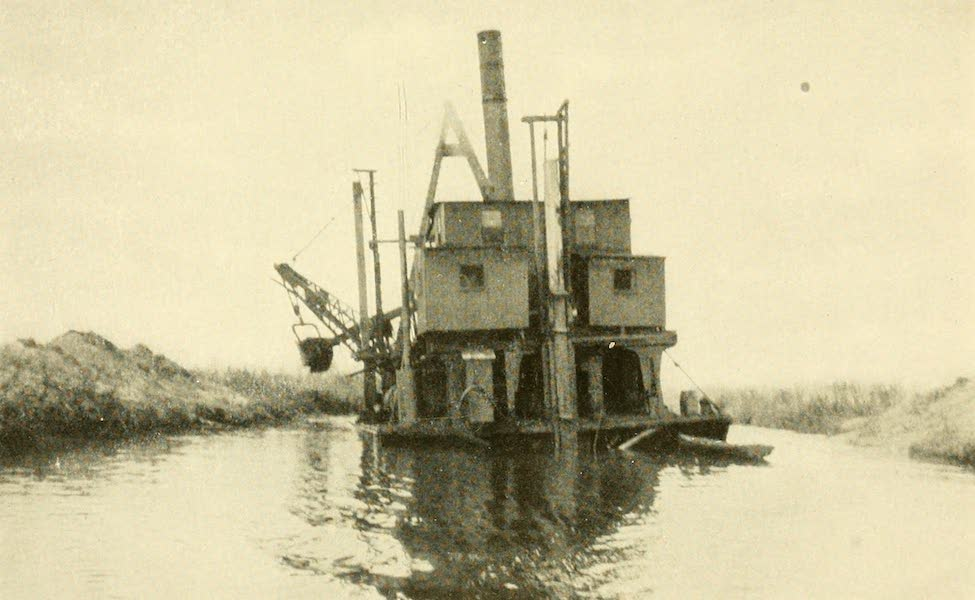 Florida, the Land of Enchantment - A Dredge in the Everglades (1918)