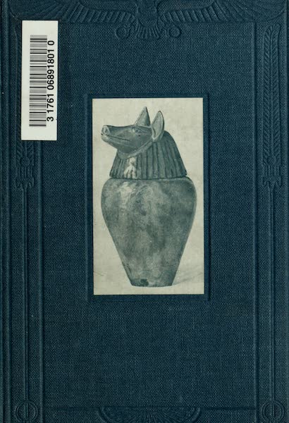 Forged Egyptian Antiquities - Front Cover (1912)
