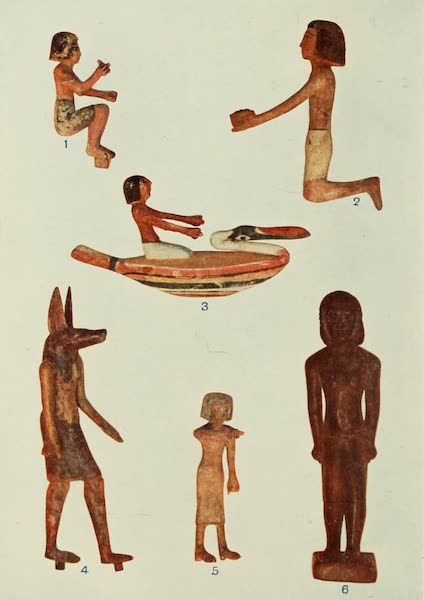 Forged Egyptian Antiquities - Wooden Ushebti Figures (1912)