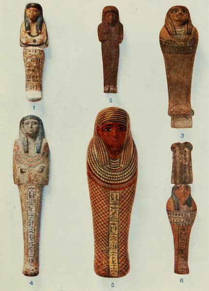 Forged Egyptian Antiquities - Funerary Figures in Wood and Plaster (1912)