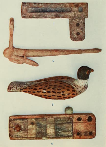 Forged Egyptian Antiquities - Wooden Articles (1912)