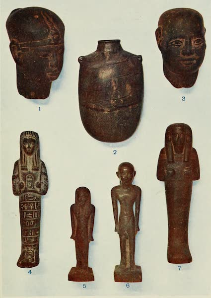 Forged Egyptian Antiquities - Stone and Composition Figures (1912)