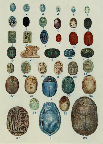 Forged Egyptian Antiquities - Scarabs and Amulets (1912)