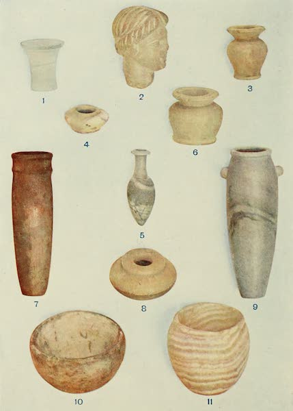 Forged Egyptian Antiquities - Alabaster (1912)