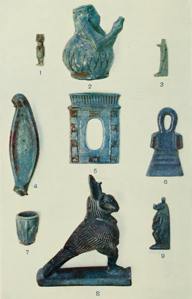 Forged Egyptian Antiquities - Blue Porcelain [I] (1912)