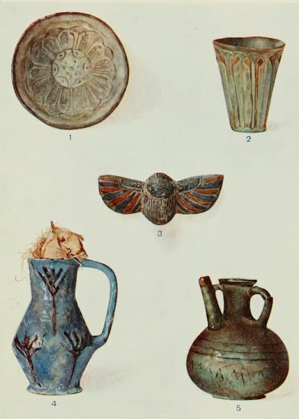 Forged Egyptian Antiquities - Porcelain (1912)