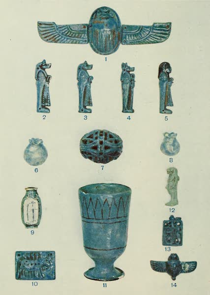 Forged Egyptian Antiquities - Blue Porcelain [II] (1912)