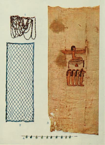 Forged Egyptian Antiquities - Beads and Mummy Cloth (1912)
