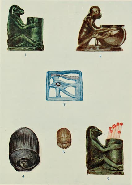 Forged Egyptian Antiquities - Reproductions Found in Nubia (1912)