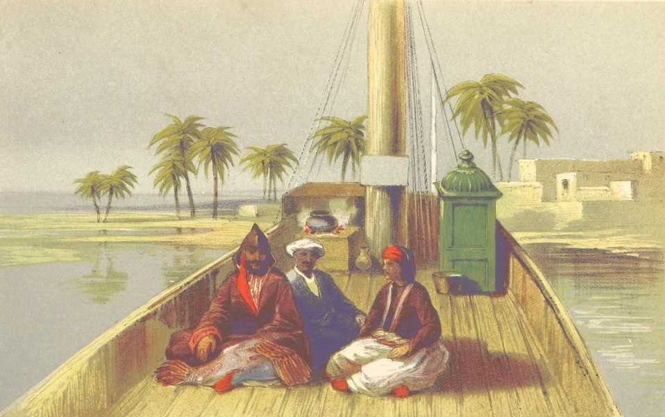 Four Months in a Dahabeeh - Mohamed el Adleeh in Undress, El Abaid, and My Man Ali (1863)