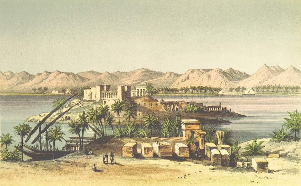 Four Months in a Dahabeeh - The Island of Philae (1863)