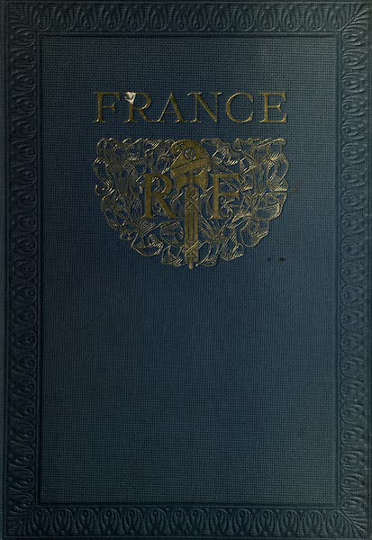 France by Gordon Home - Front Cover (1914)