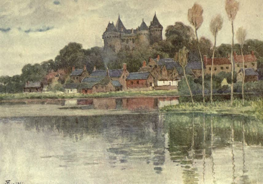 France by Gordon Home - Combourg, a typical Chateau of the Mediaeval Type (1914)