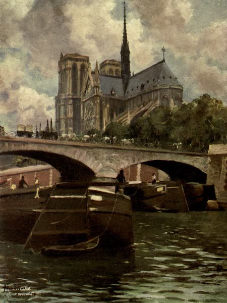 France by Gordon Home - In the Centre of Paris (1914)