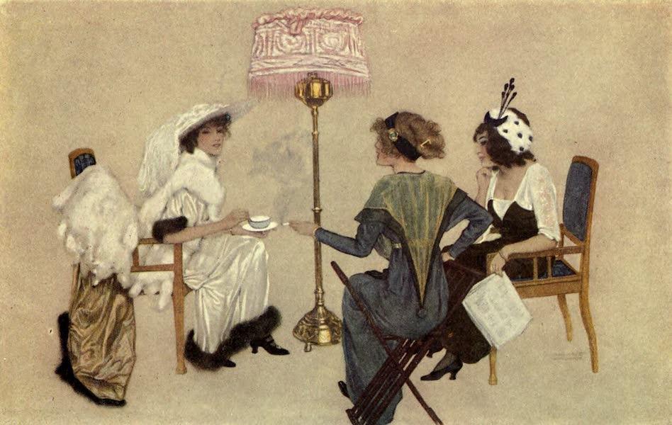 France by Gordon Home - Five-o'clock Tea in Paris (1914)