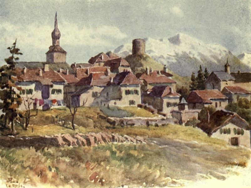 France by Gordon Home - La Roche, a Village of Haute Savoie (1914)