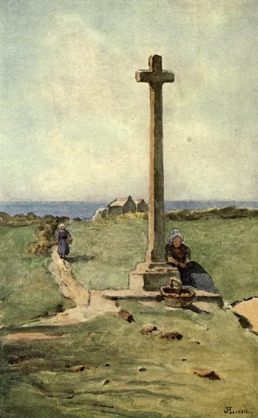 France by Gordon Home - A Breton Calvaire: the oratory of Jacques Cartier (1914)