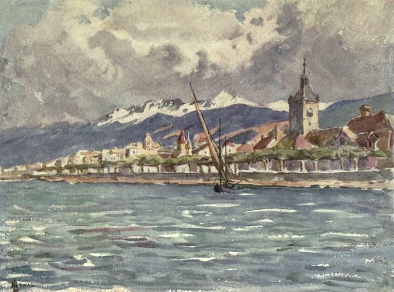 France by Gordon Home - Evian les Bains on Lake Geneva (1914)