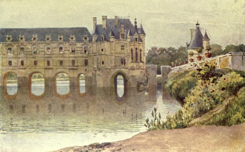 France by Gordon Home - St. Malo from St. Servan (1914)