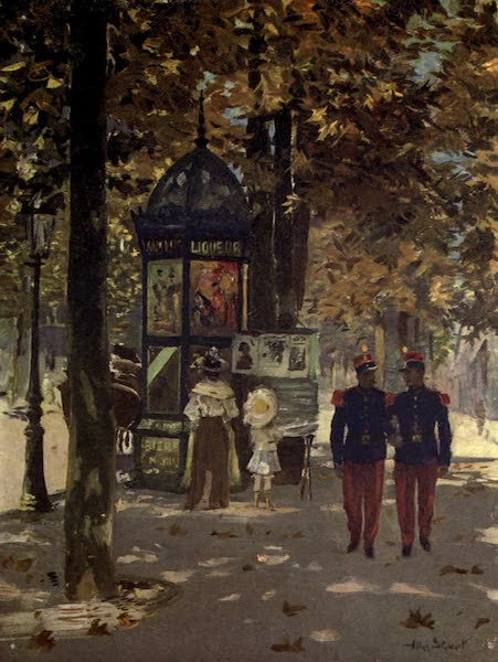 France by Gordon Home - Soldiers of France in Paris (1914)