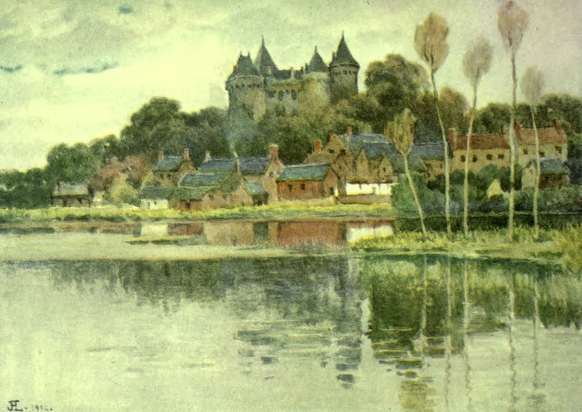 France by Gordon Home - Combourg, a Typical Chateau of the Mediaeval Type (1918)