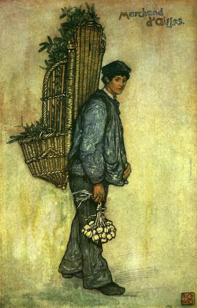 France by Gordon Home - A Norman Peasant (1918)