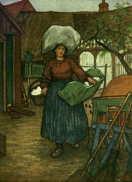 France by Gordon Home - A Peasant (1918)