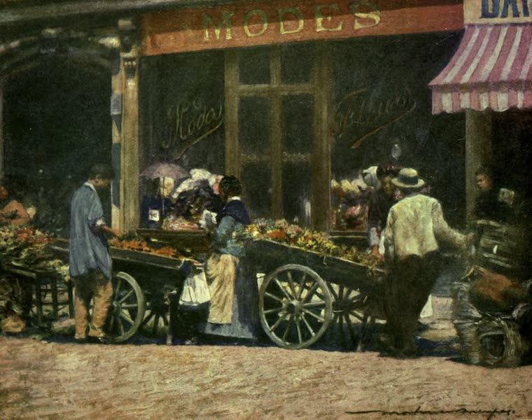 France by Gordon Home - Market Barrows (1918)