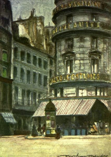 France by Gordon Home - A Street Corner (1918)