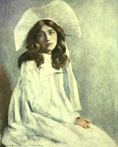 France by Gordon Home - A French Girl (1918)