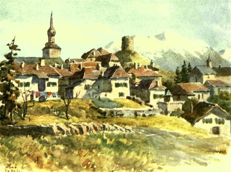 France by Gordon Home - La Roche, a Village of Haute Savoie (1918)