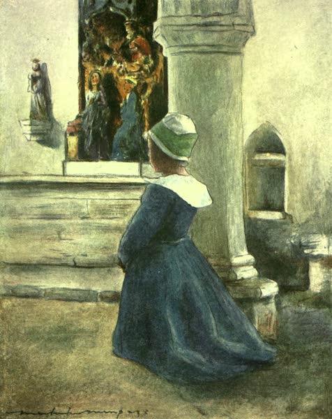 France by Gordon Home - In Church (1918)