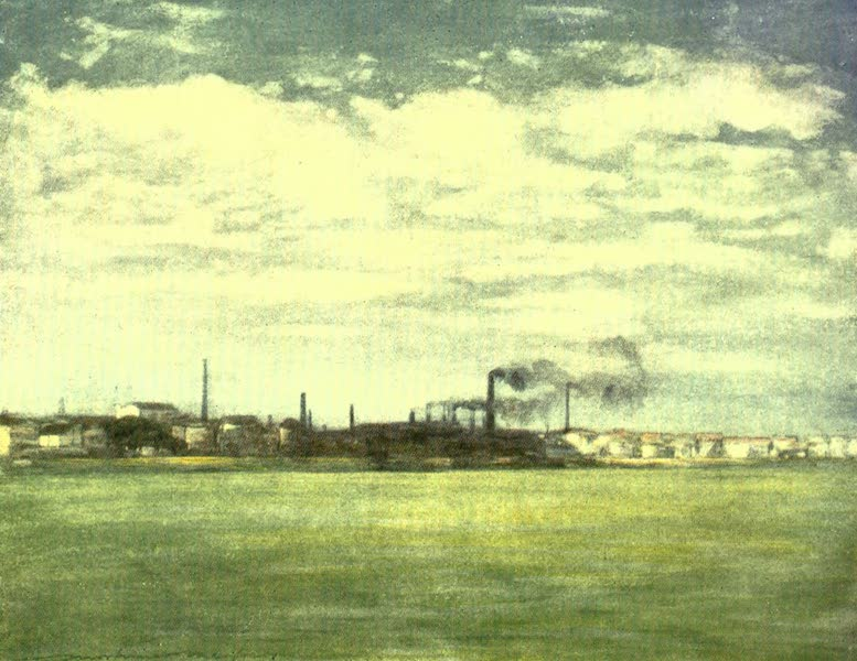 France by Gordon Home - The Seine (1918)