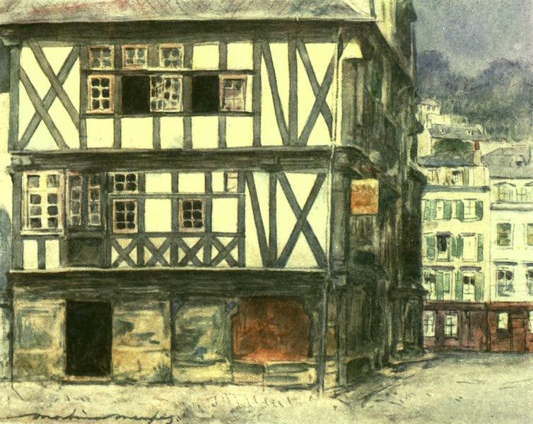 France by Gordon Home - Timber-framed House (1918)