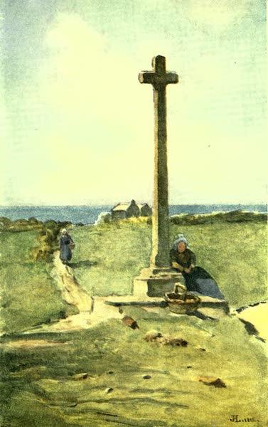 France by Gordon Home - A Breton Calvaire (1918)