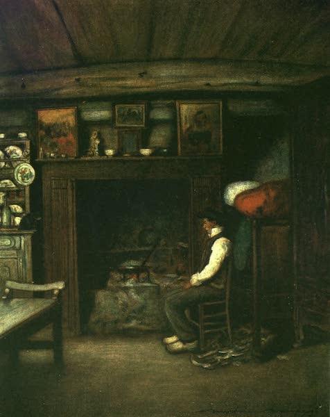 France by Gordon Home - A Farm-House Kitchen (1918)