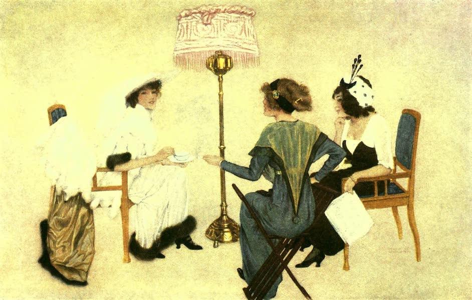 France by Gordon Home - Five O'clock Tea in Paris (1918)