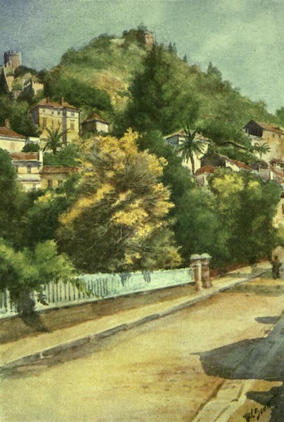 France by Gordon Home - A Street in Hyeres (1918)