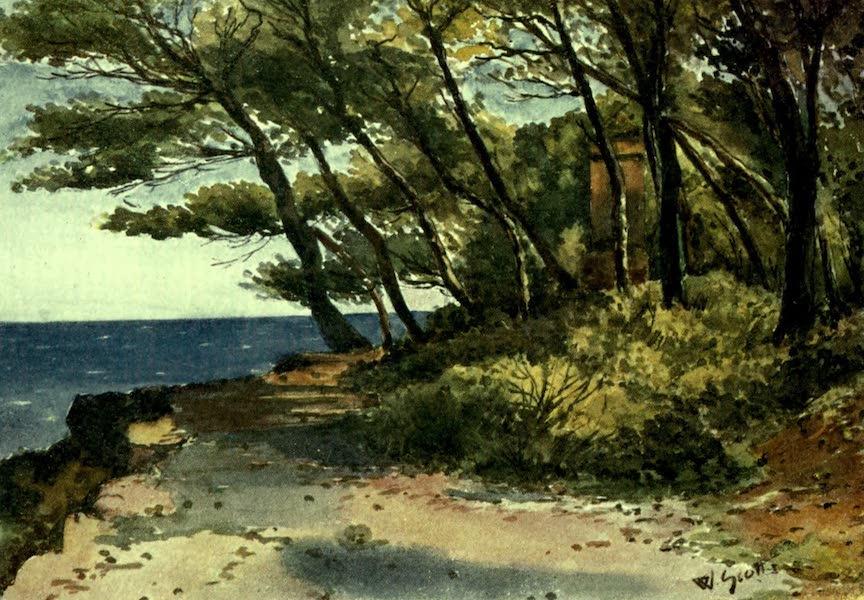 France by Gordon Home - Cap Martin, near Mentone (1918)