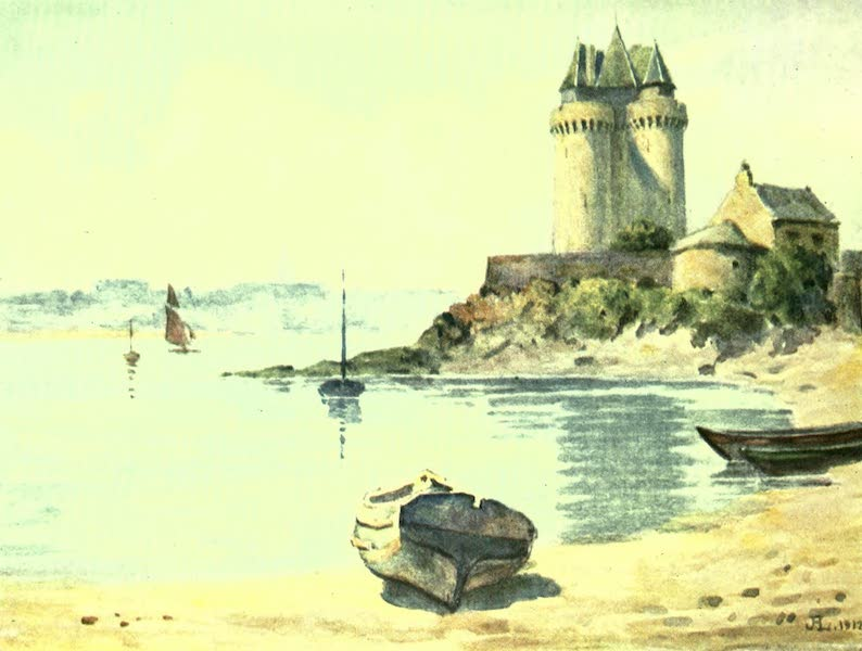 France by Gordon Home - St. Malo from St. Servan (1918)