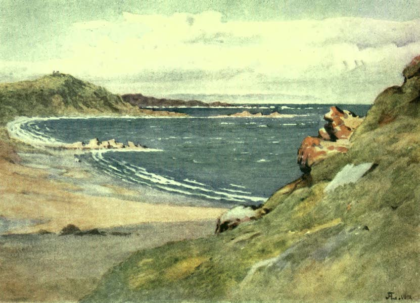France by Gordon Home - On the Northern Coast (1918)